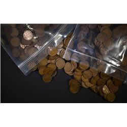 2500 CIRC MIXED DATE LINCOLN WHEAT CENTS