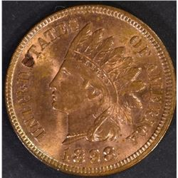1898 INDIAN CENT, CH BU RED