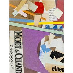 German Dadaist Mixed Media Signed Kurt Schwitters