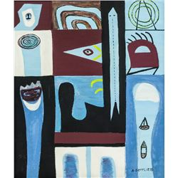 US Abstract Expressionist OOC Adolph GOTTLIEB