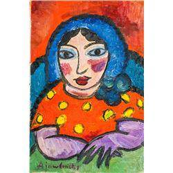 Russian Expressionist OOC Alexej von Jawlensky
