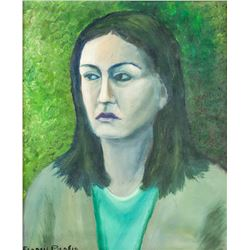 French Dadaist OOC Portrait Signed Francis Picabia