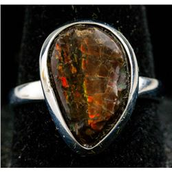 Sterling Silver Ammoite Ring RV $200