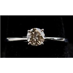 10K White Gold 0.5 ct Diamond Ring CRV$ 2200