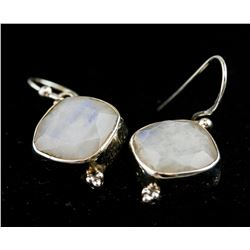 Sterling Silver Moonstone Earrings RV$ 180