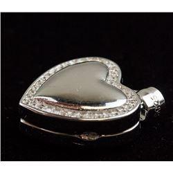 Sterling Silver Locket Pendant RV $240