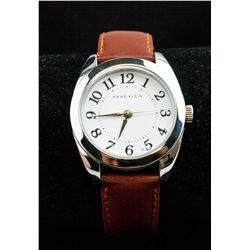 Anne Klein Leather Watch Stainless Steel