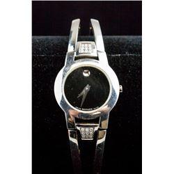 Swiss Movado Diamond Watch RV $1725