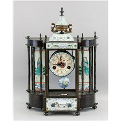 French Antique Table Clock Working Condition