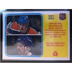 1982-83 O-Pee-Chee Wayne Gretzky,Michel Goulet #237