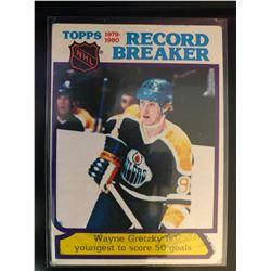 1980-81 Topps Wayne Gretzky #3 Record Breaker