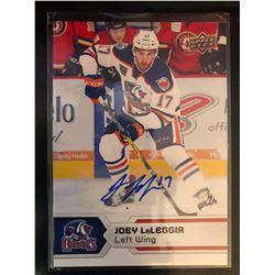 2017-18 Upper Deck AHL Joey Laleggia Autograph #4