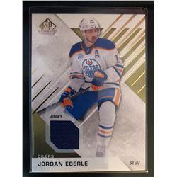 2017-17 SP Game Used Jordan Eberle #71 Gold Materials