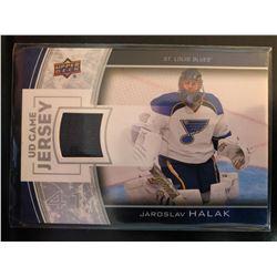 2013-14 Upper Deck Jaroslav Halak Game Jersey #GJ-JH