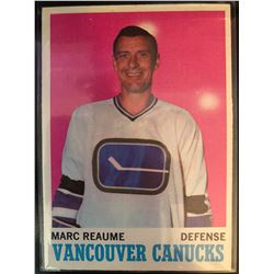 1970-71 Topps Marc Reaume #119