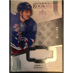 2016-17 Ultimate Collection Rookie Jimmy Vesey #153