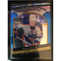 2017-18 O-Pee-Chee Platinum Wayne Gretzky Card #PR-3