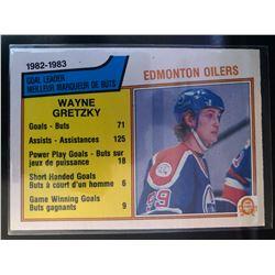 1983-84 O-Pee-Chee Wayne Gretzky #22 Scoring Leaders