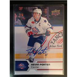 2017-18 Upper Deck AHL Kevin Porter Autograph #94