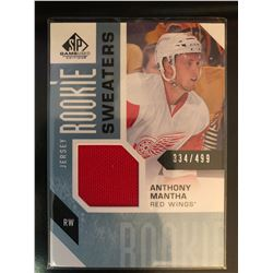 2016-17 SP Game Used Rookie Sweaters Anthony Mantha
