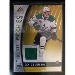 2017-18 SP Game Used Denis Gurianov#162 Gold Jersey