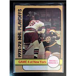1972-73 O-Pee-Chee Game 4 NHL Playoffs #38