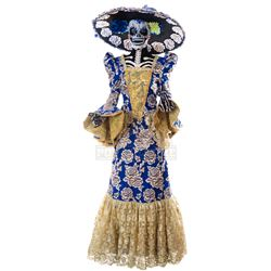 Goosebumps 2: Haunted Halloween - Day of the Dead Lady's Costume (Blue) - 1244
