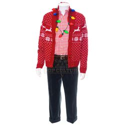 Goosebumps 2: Haunted Halloween - Mr. Chu's (Ken Jeong) Christmas Outfit - 1201