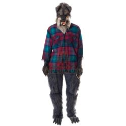 Goosebumps 2: Haunted Halloween - Terrified Parent Monster-Mr. Rennie Costume - 1188