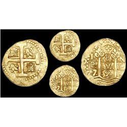 Lima, Peru, cob 8 escudos, 1729N.