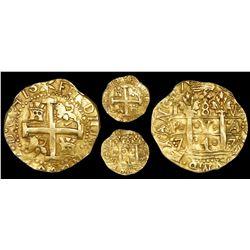 Lima, Peru, cob 8 escudos, 1747V, NGC AU 58.
