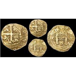 Lima, Peru, cob 8 escudos, 1749R, NGC XF 45.