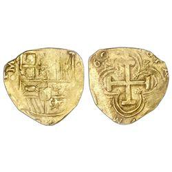 Seville, Spain, cob 8 escudos, 169(?)M, PCGS MS61.