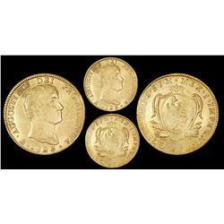 Mexico City, Mexico, 8 escudos, Iturbide, 1823JM.