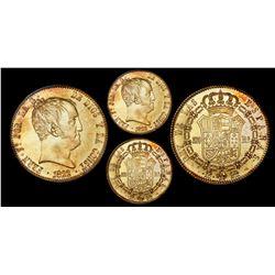 Madrid, Spain, 320 reales de vellon, 1822SR, Ferdinand VII, PCGS AU58.