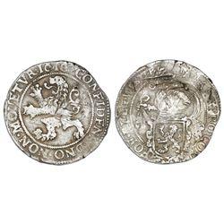 "Westfriesland, United Netherlands, ""lion"" daalder, 1616."