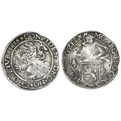 Zeeland, United Netherlands,  lion  daalder, 1616.