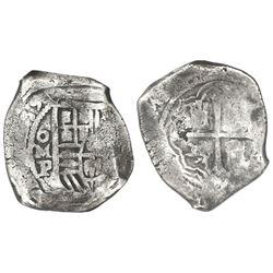 Mexico City, Mexico, cob 8 reales, (16)39P, ex-Rudman.