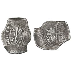 Mexico City, Mexico, cob 8 reales, 1641/39P, ex-Rudman.