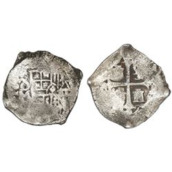 Mexico City, Mexico, cob 4 reales, 1635(P), rare, ex-Rudman.