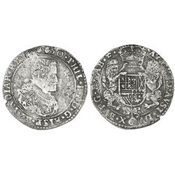 Brabant, Spanish Netherlands (Antwerp mint), portrait ducatoon, Philip IV, 1650.