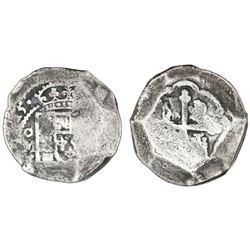 Mexico City, Mexico, cob 8 reales, (17)15J.