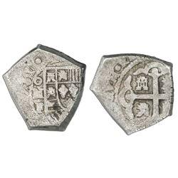 Mexico City, Mexico, cob 4 reales, (1)731F.