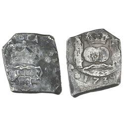 Guatemala, cob 4 reales, 1739(J).