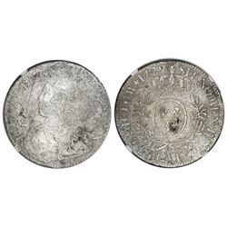 France (Paris mint), ecu, Louis XV, 1729-A, NGC genuine / La Dramadaire.