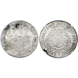 France (Nantes mint), ecu, Louis XV, 1740-T, NGC genuine / La Dramadaire.
