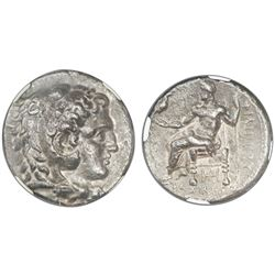 Kings of Macedon, AR tetradrachm, Philip III, 323-317 BC, Struck under Archon, Dokimos, or Seleukos