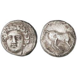 Thessaly, Larissa, AR drachm, 350-325 BC.