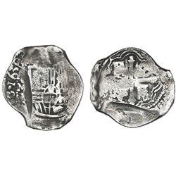 Mexico City, Mexico, cob 8 reales, 1639/8P, ex-Concepcion (1641), ex-Rudman.