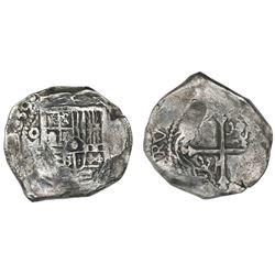 Mexico City, Mexico, cob 8 reales, 1639(P), ex-Concepcion (1641), ex-Rudman.